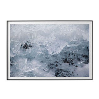 """Jeaneen Lund """"Glacial Ice #2"""" Unframed Photographic Print For Sale"""