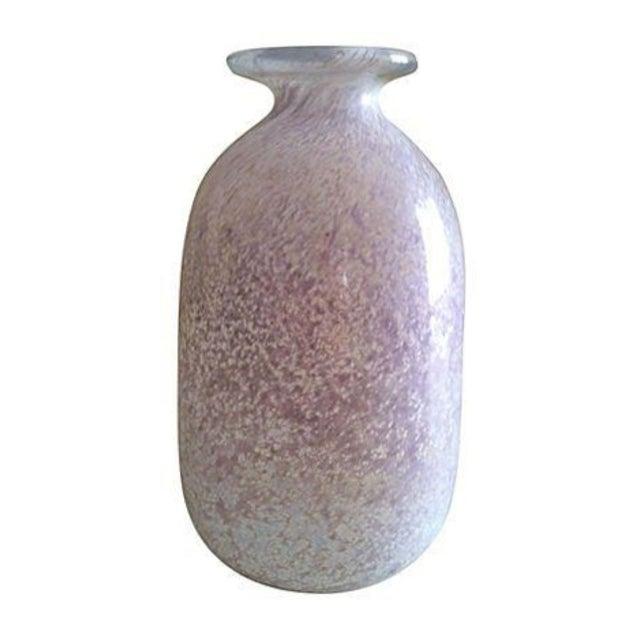Kosta Boda Vase in Pink - Image 1 of 2