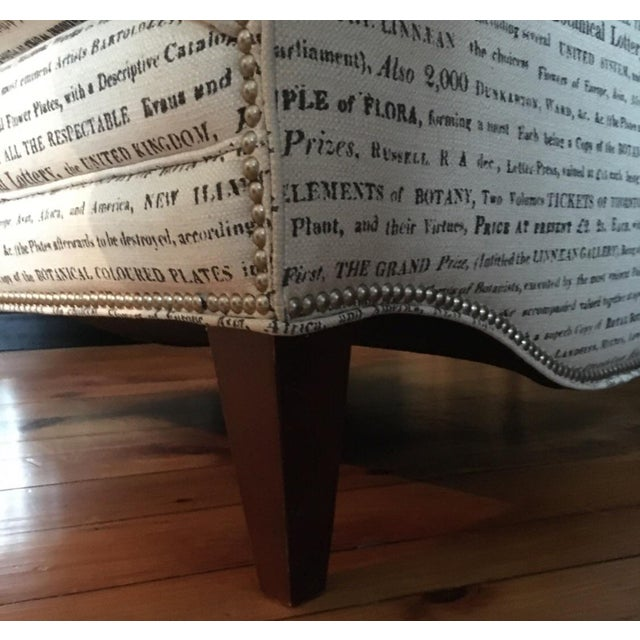 French Laundry Upholstered Chair - Image 6 of 7