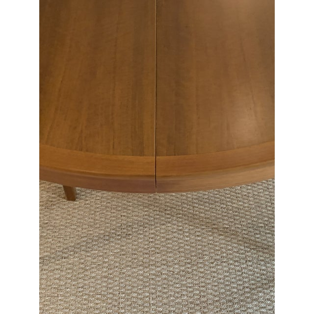 Vintage Swedish Walnut Dining Table by B. Fridhagen for Bodafors For Sale - Image 9 of 13