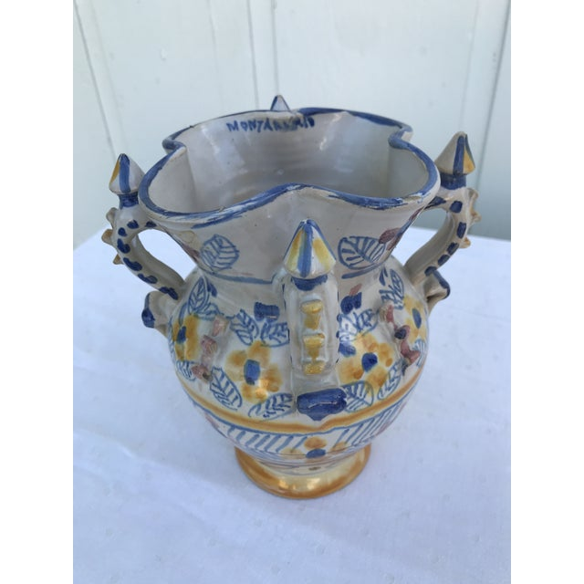 Montalvan Ceramic Vases - a Pair For Sale - Image 10 of 13