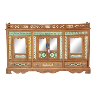 19th Century British Colonial Sideboard For Sale