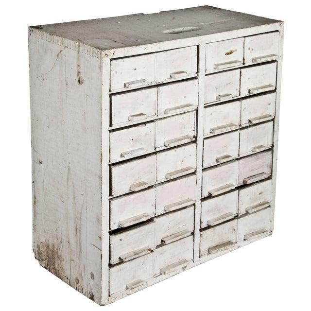 Handmade 28-Drawer Cheese Box Cabinet - Image 4 of 4
