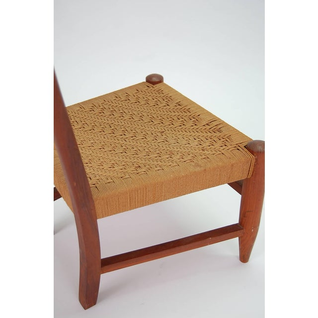 Diminutive Scandinavian Chair in Teak For Sale In Providence - Image 6 of 8