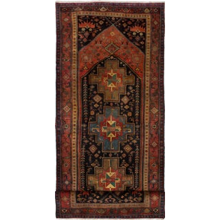 "Zanjan Vintage Persian Rug, 4'9"" x 12'2"" feet"