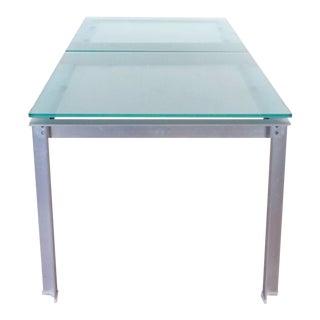 Modern B&b Italia Glass Top Atavola Dining Table For Sale