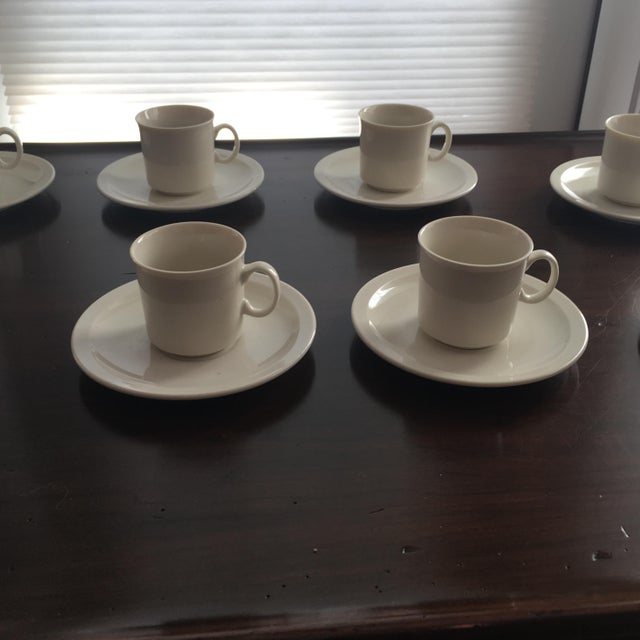 Yoko Ono Art Collection Collectors Espresso Set - Set of 8 For Sale - Image 5 of 10