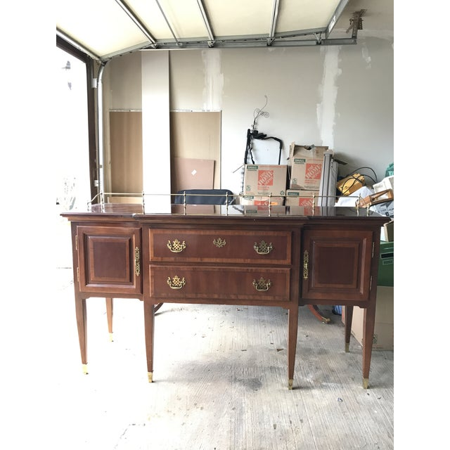 Lexington Formal Buffet Arnold Palmer Collection Cherrywood Sideboar For Sale In Washington DC - Image 6 of 6