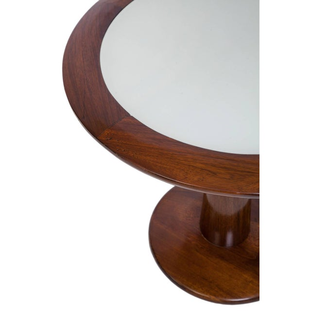 Vintage L'Atelier Round Side Table - Image 2 of 2