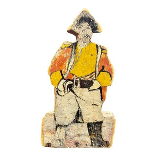 "Mid 20th Century ""Pirate"" Outsider Folk Art Figure For Sale"