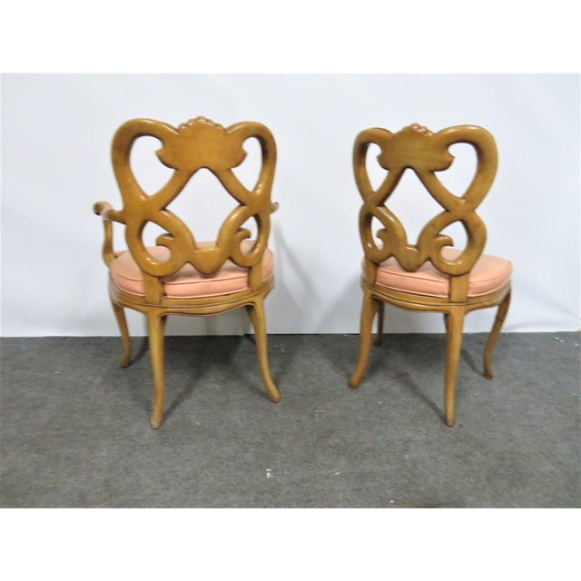 Louis XV Style Maple Shell Carved Dining Chairs- Set of 6 For Sale In Philadelphia - Image 6 of 10