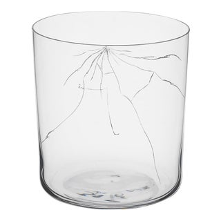 """Neo Crack"" D Tumbler by Murray Moss For Sale"