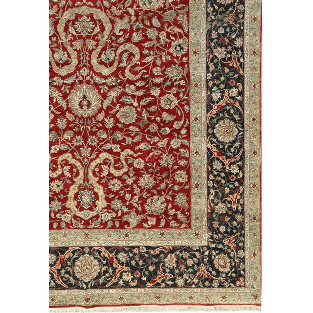 Asian Traditional Hand Woven Rug - 9′11″ × 17′11″ For Sale - Image 3 of 3