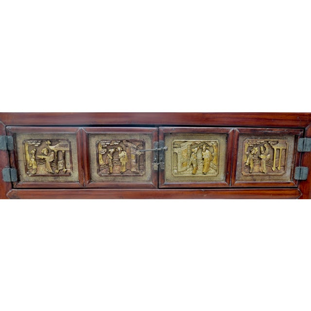 Exquisite Antique Chinese Qing Dynasty Cabinet For Sale In Los Angeles - Image 6 of 12