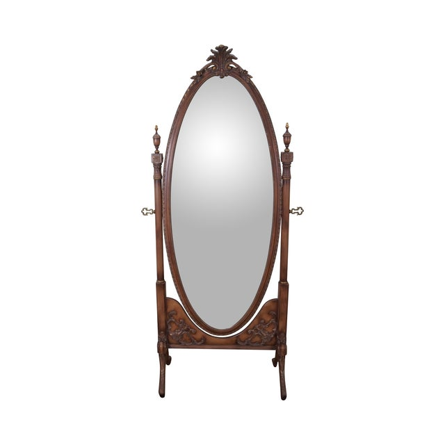 Vintage French Louis XV Style Chevelle Mirror - Image 1 of 10