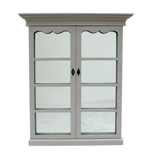 Sarreid Ltd. Adriana French Window Mirror For Sale
