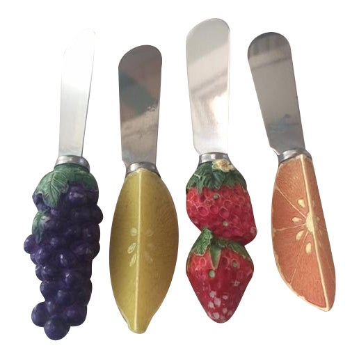 1970s Cheese Spreaders - Set of 4 - Image 1 of 6