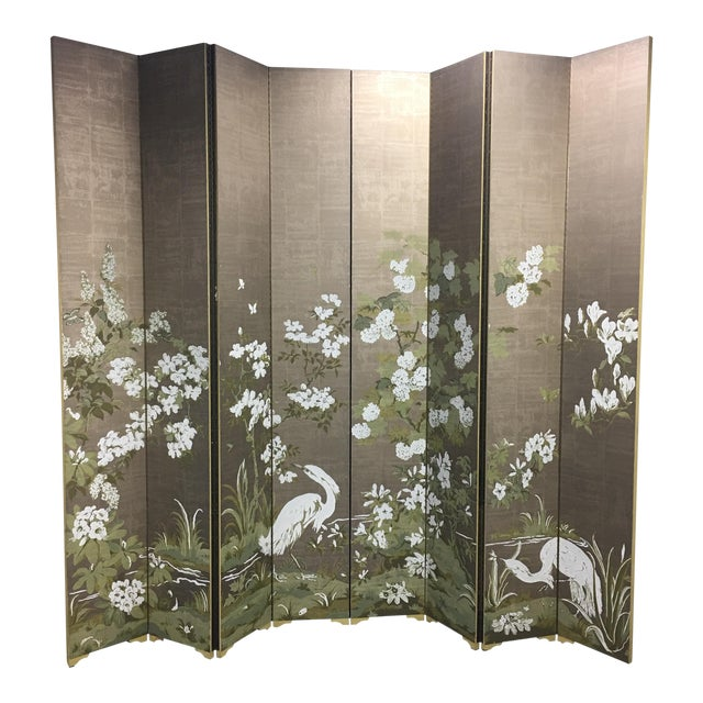 Chinoiserie Custom Designed Screen - Image 1 of 9