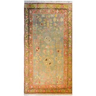 Amazing Early 20th Century Samarkand Rug For Sale