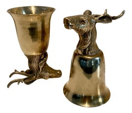Image of Brass Mugs and Cups