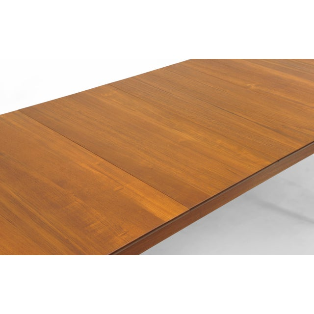 Finn Juhl Teak Dining Table, Expandable with Two Leaves, Exceptional Condition - Image 3 of 11