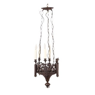 Gothic Revival Chandelier For Sale