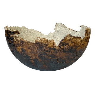 Monumental Stoneware Vessel / Bowl by Michael Becker For Sale