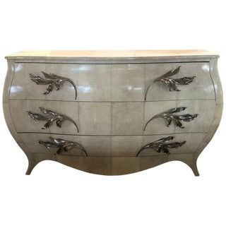 French Chest of Drawers in Shagreen For Sale