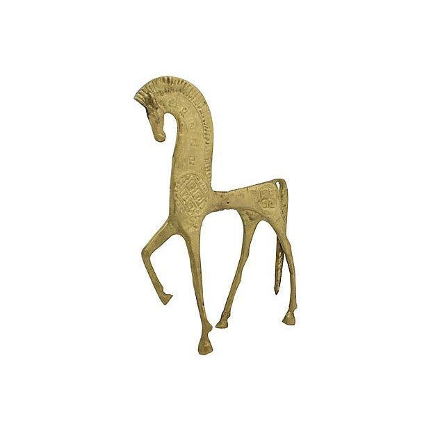Mid Mod Etruscan Horse Figure - Image 2 of 4