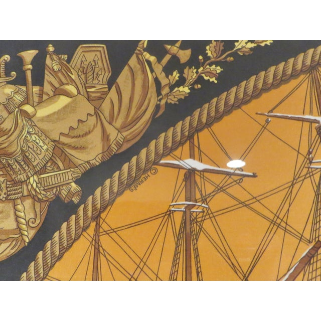 Hermes French Vintage Scarf For Sale - Image 10 of 11