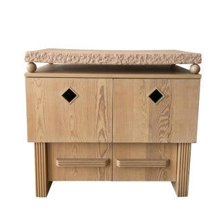 Southwest Style Vintage Cabinet/ End Table For Sale