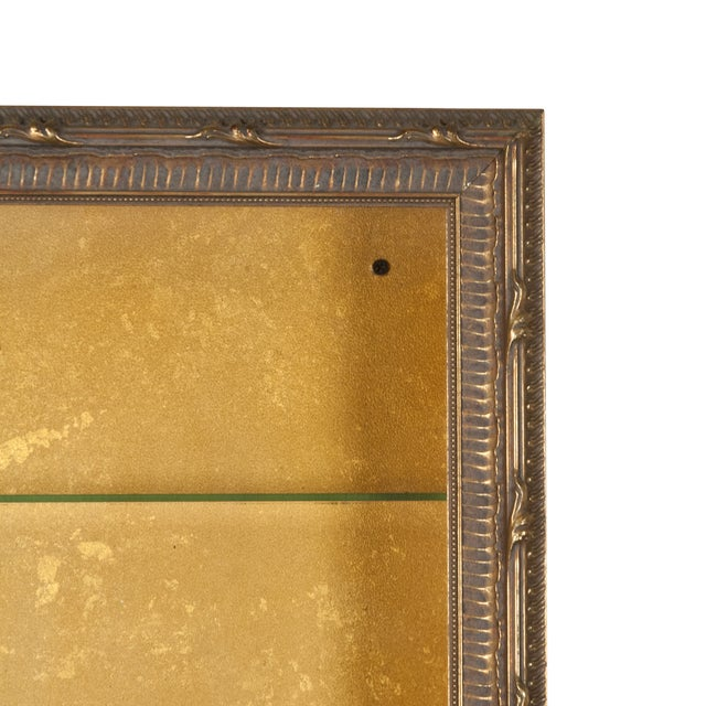 Wall-Mounted Giltwood Vitrines - Pair For Sale - Image 7 of 9