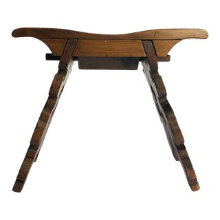 Rare Stool by Mexican Mid-Century Modernist Don Shoemaker For Sale