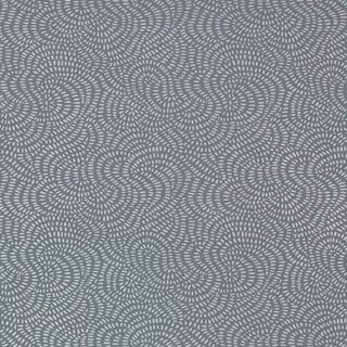 Sample - Schumacher Whirlpool Wallpaper in Mercury For Sale