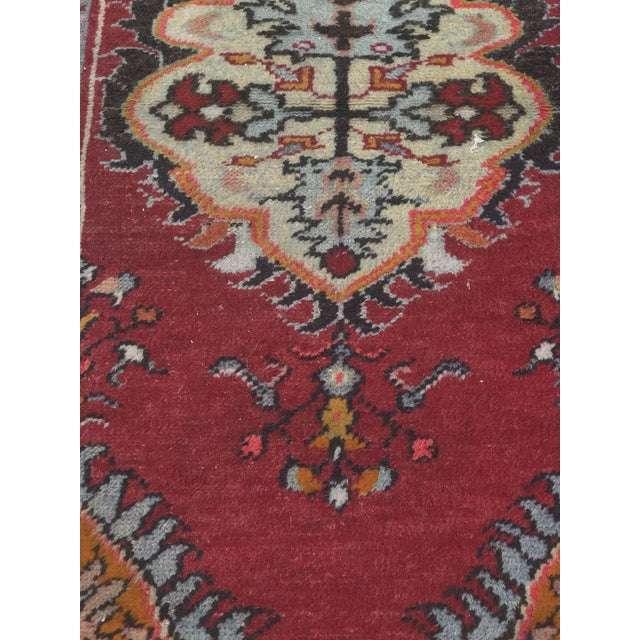 "Vintage Turkish Anatolian Rug - 2'8""x5'4"" - Image 4 of 11"