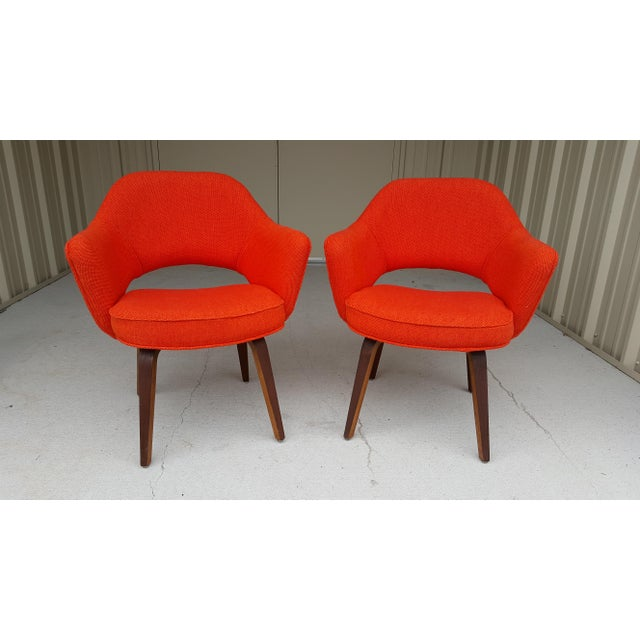 Vintage Saarinen Knoll Exectutive Chairs- a Pair For Sale - Image 11 of 13