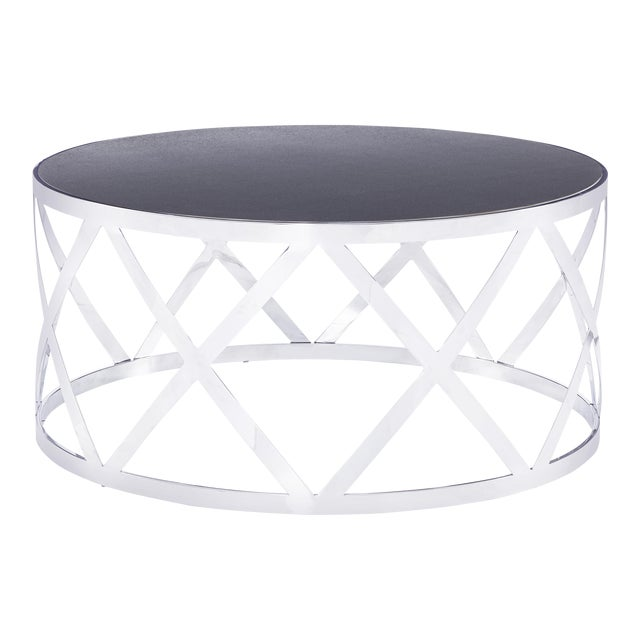 Blink Home Black Cocktail Table For Sale