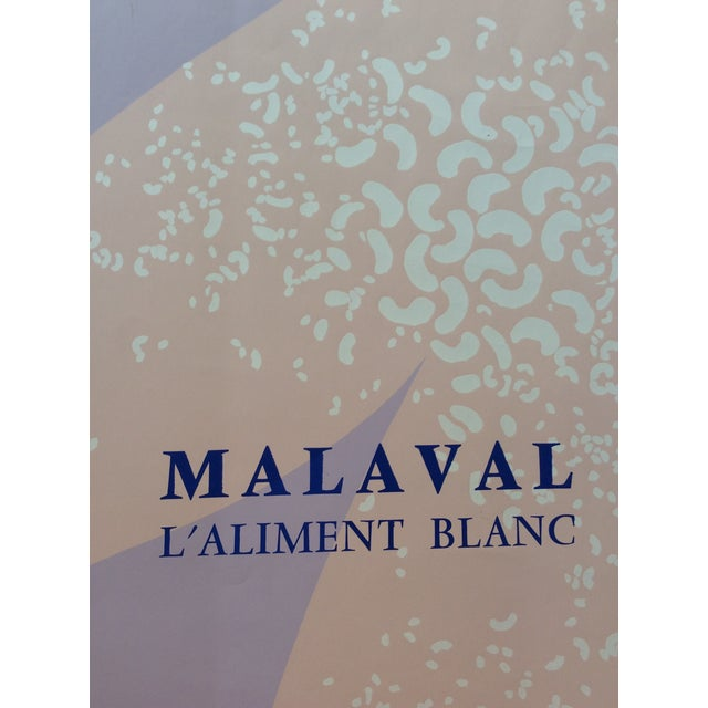 Original French Art Exhibition Poster for Robert MALAVAL (1937-1980) that was held at the Galerie de la Salle in Vence,...
