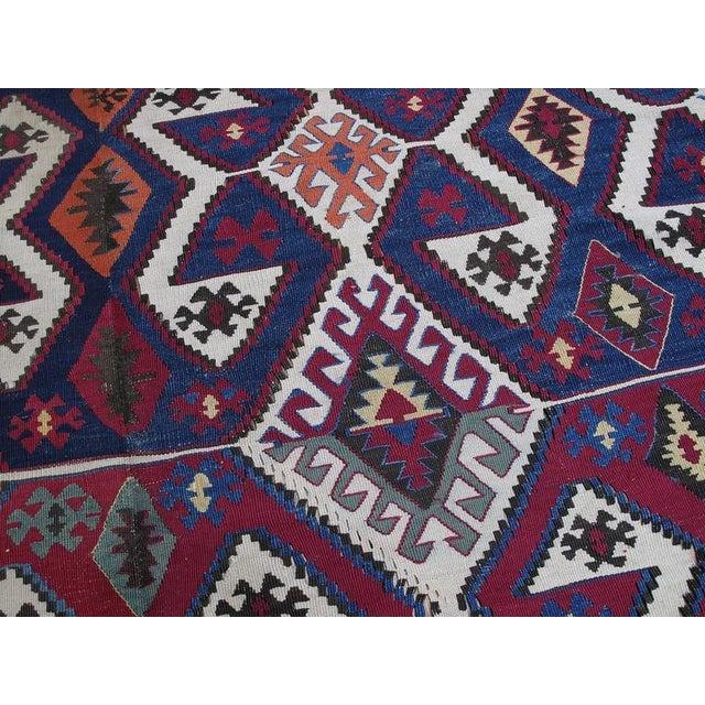 Textile Antique Aksaray Kilim For Sale - Image 7 of 10