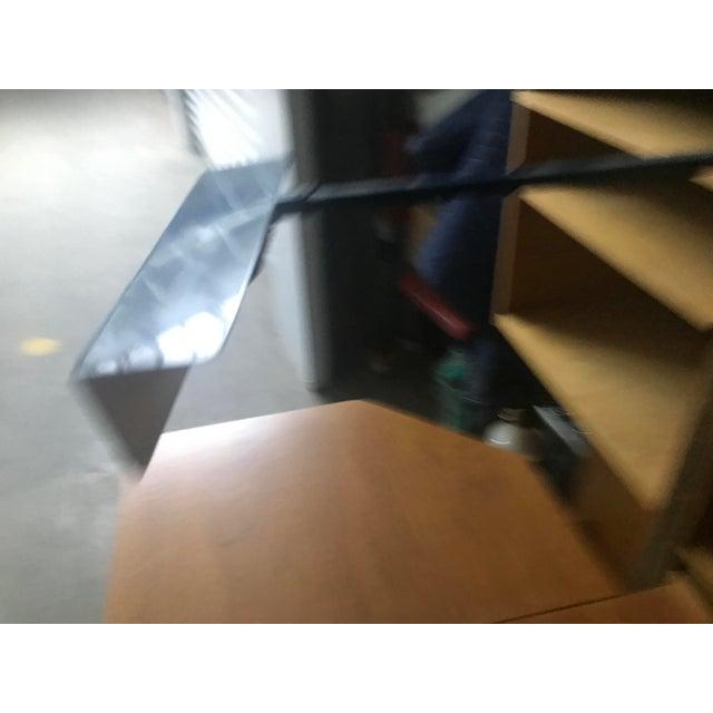 Cinnamon Danish Modern Wooten Style Secretary Desk For Sale - Image 8 of 11