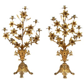 Image of Baroque Candle Holders