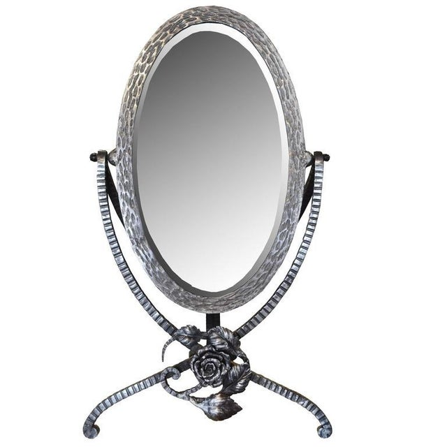 French Fer Forge Vanity Mirror - Image 2 of 5