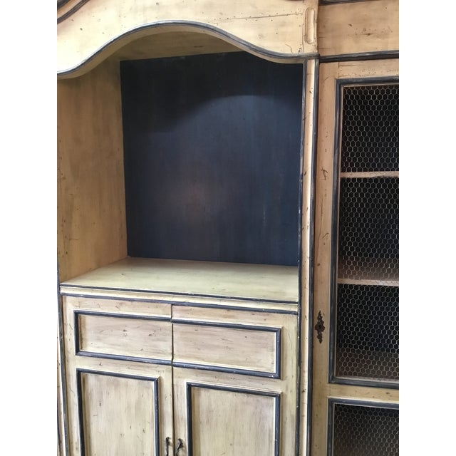 French French Carved Center Crown Armoire For Sale - Image 3 of 13