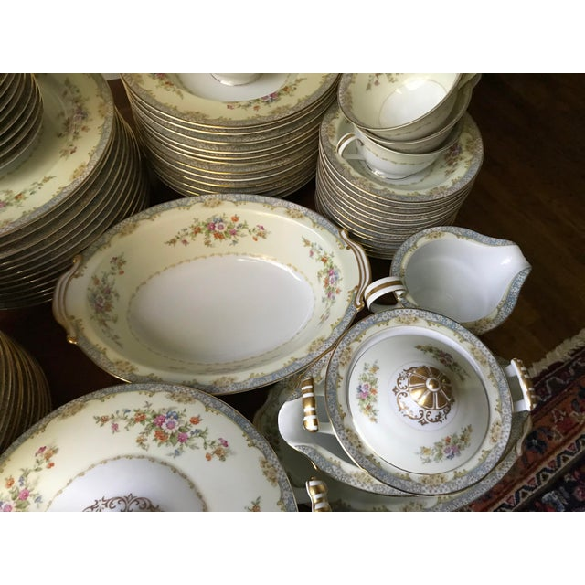 Vintage Rare 1947(M)Naomi by Noritake China Dinnerware 96 Pieces- Service  for 12/ Final Reduction