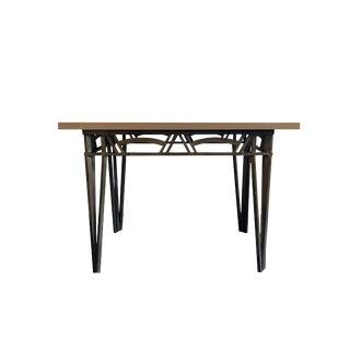 1970s Art Deco Revival Metal Table