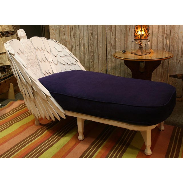 Antique Eagle Chaise Lounge For Sale - Image 9 of 9
