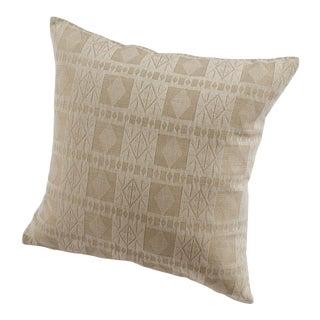 Handwoven Katsina Pillow in Ancient Nok Camel For Sale
