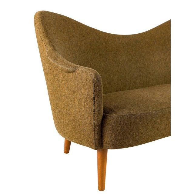 """Tan Carl Malmsten """"Samspel"""" Sofa For Sale - Image 8 of 10"""