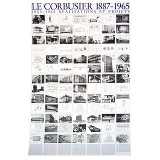 Le Corbusier, Realisations Et Projets, Offset Lithograph, 2017 For Sale