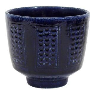 Per Linnemann-Schmidt for Palshus Danish Mid-Century Modern Ceramic Bowl For Sale